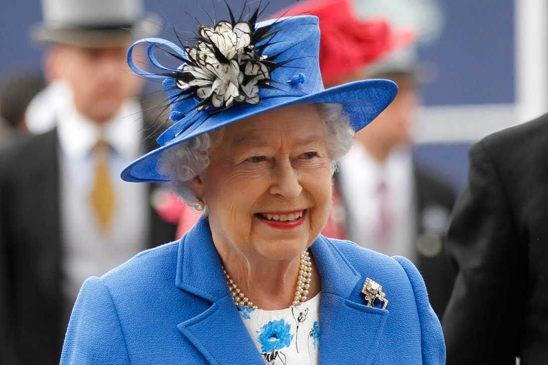 Queen Elizabeth II of Great Britain during the grand celebration in 2012 when she sat on the throne for 60 years.