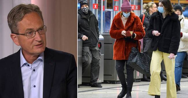 The expert said: Sweden could go from pandemic to endemic in August