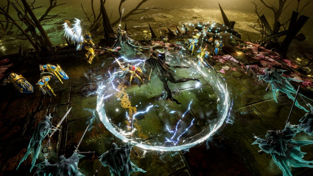 Watch the outstanding gameplay from Warhammer Age of Sigmar: Storm Ground
