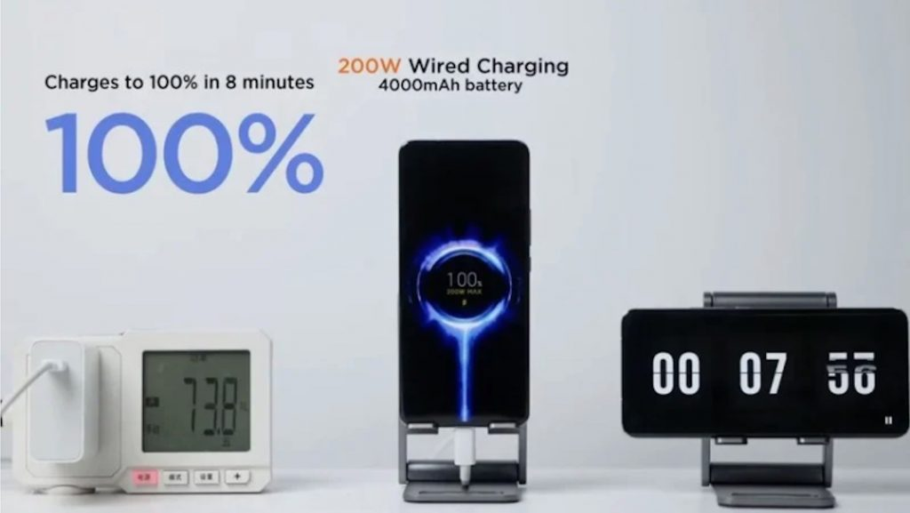 Xiaomi Hyper Charge can charge your mobile phone in 8 minutes!