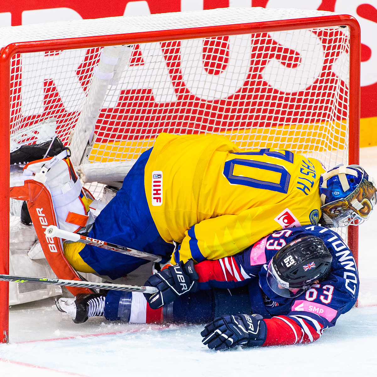 Great Britain, Tre Kronor, Hockey World Cup