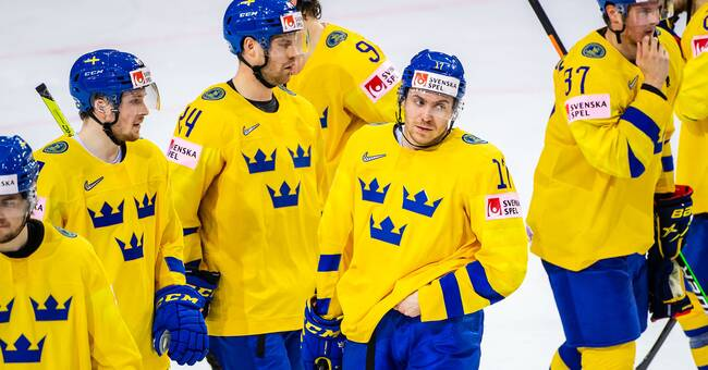 This is how Sweden will advance in the Ice Hockey World Cup