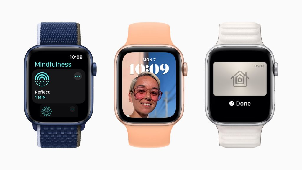 More features for Apple Watch with watchOS 8