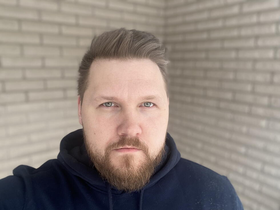 Mattias Bornstedt, who lives in Arvika and works at Kongsvinger.