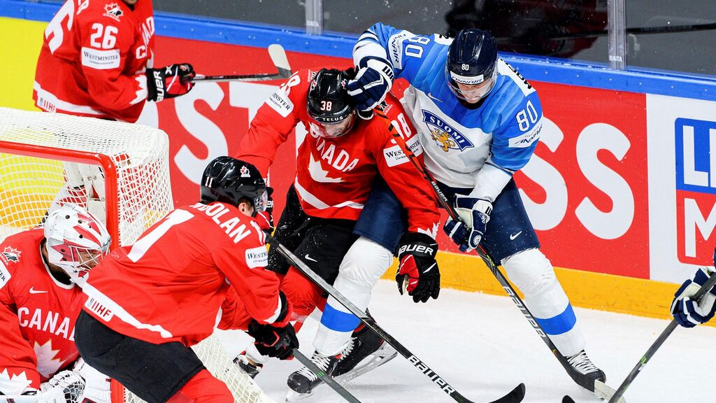 Canada lost to Finland - you may miss the quarter-finals of the Hockey World Cup