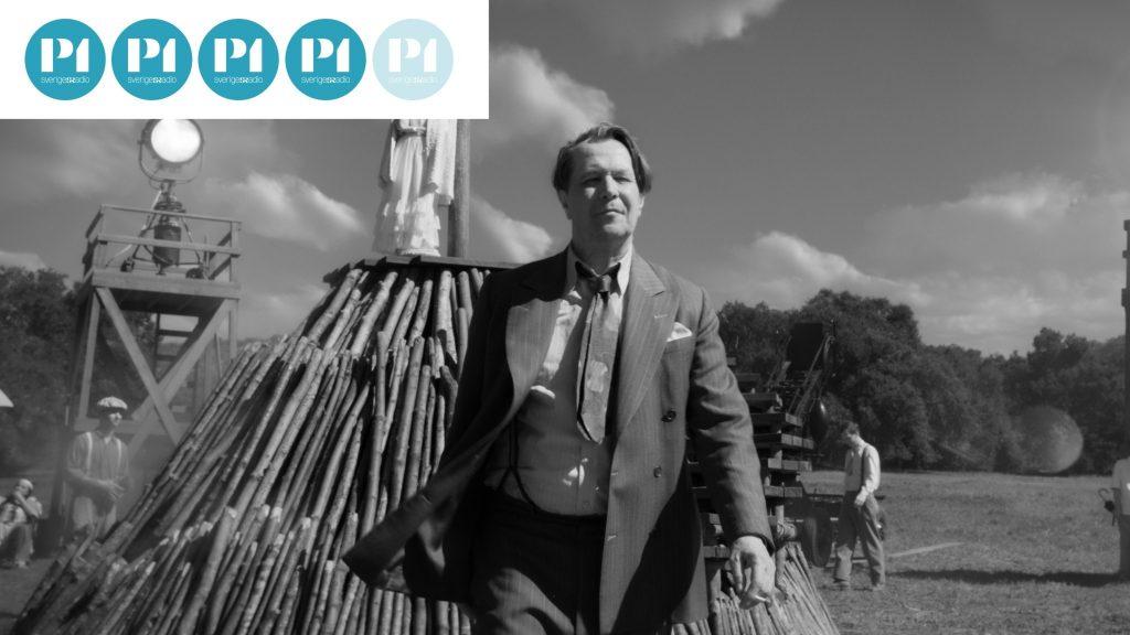 Gary Oldman spelar huvudrollen i David Finchers film om vad som inspirerade till filmklassikern Citizen Kane.