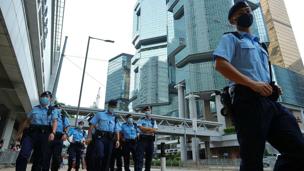 Democrat fights in court in Hong Kong