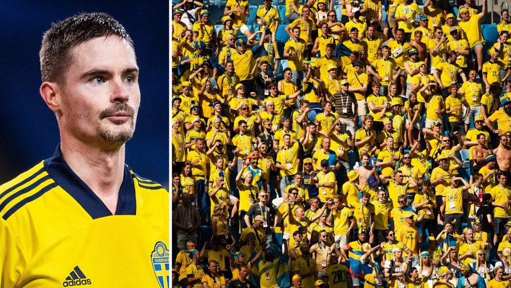 EC 2021 • Mikael Lustig promised a yellow and blue wall for the Round of 16 in Glasgow