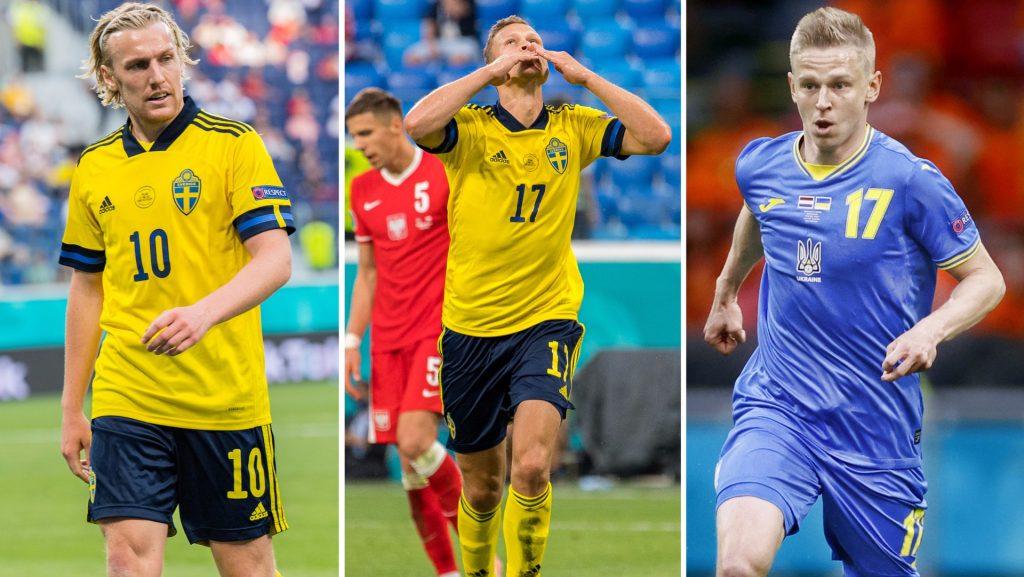 European Football Championship 2021 • Sweden meets Ukraine in the round of 16