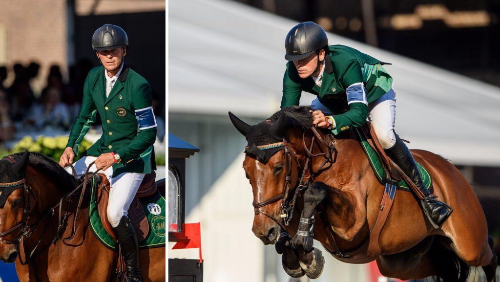 Fredrickson's star horse got lactic acid at tonight's Grand Prix