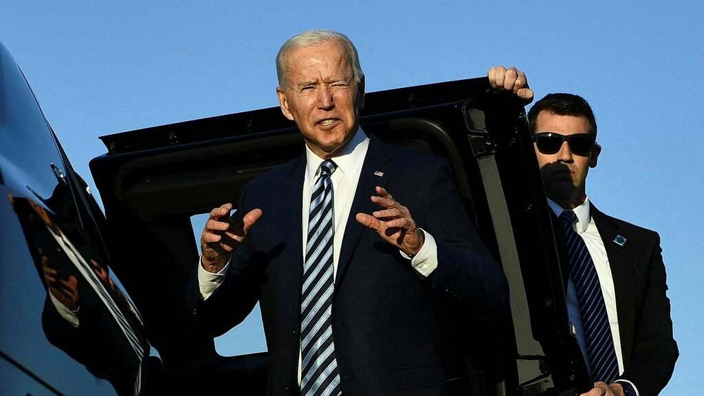 """Joe Biden on a visit to Europe: """"The United States is back"""""""
