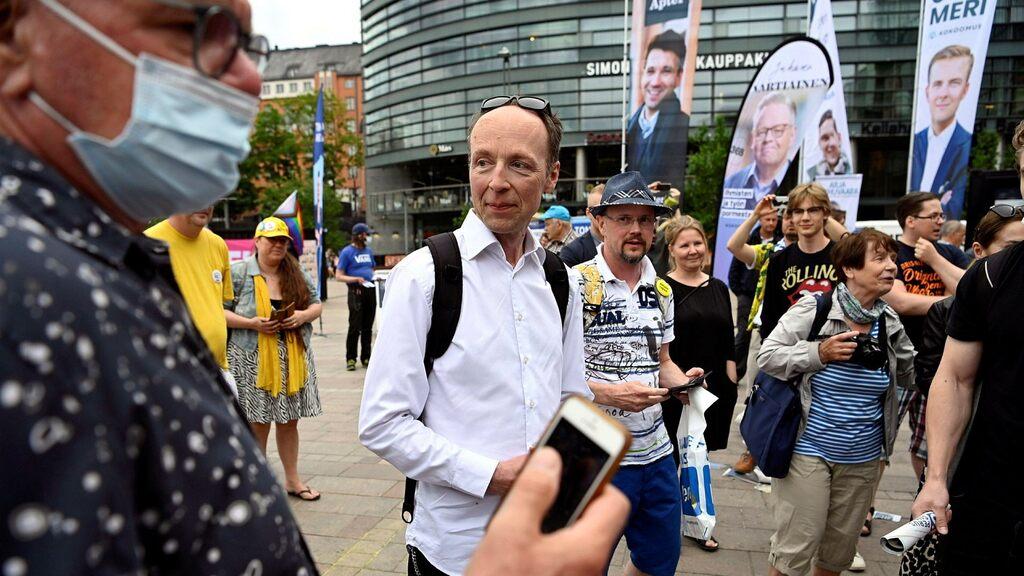 Jussi Halla-aho resigns as True Finns Party leader