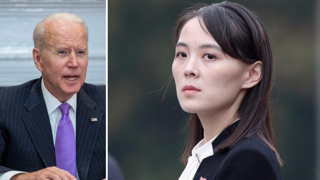 Kim Yo Jong, sister of Kim Jong Un, witnessed the progress of the United States