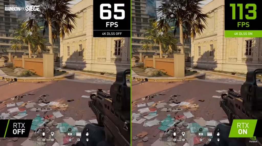 Nvidia sneaks DLSS 2.2 in update for Rainbow Six Siege
