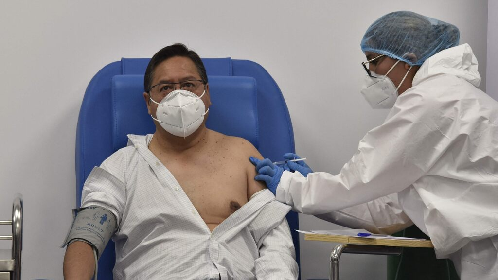 The large increase in the number of infected and dead in South America continues