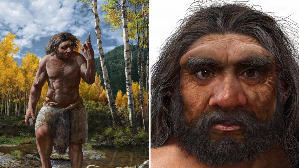 """The remains of """"Drakman"""" - the discovery is believed to be a new human species"""