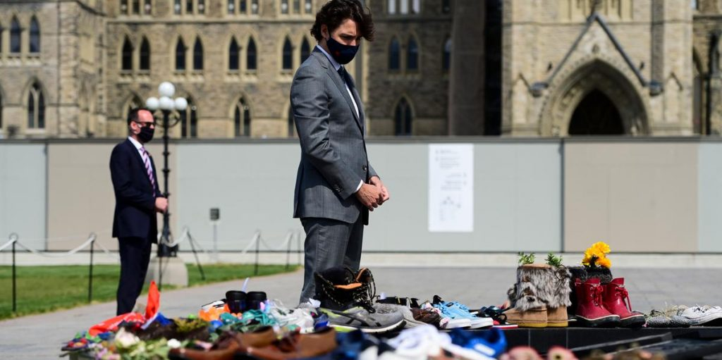Trudeau is disappointed in church after tragedy