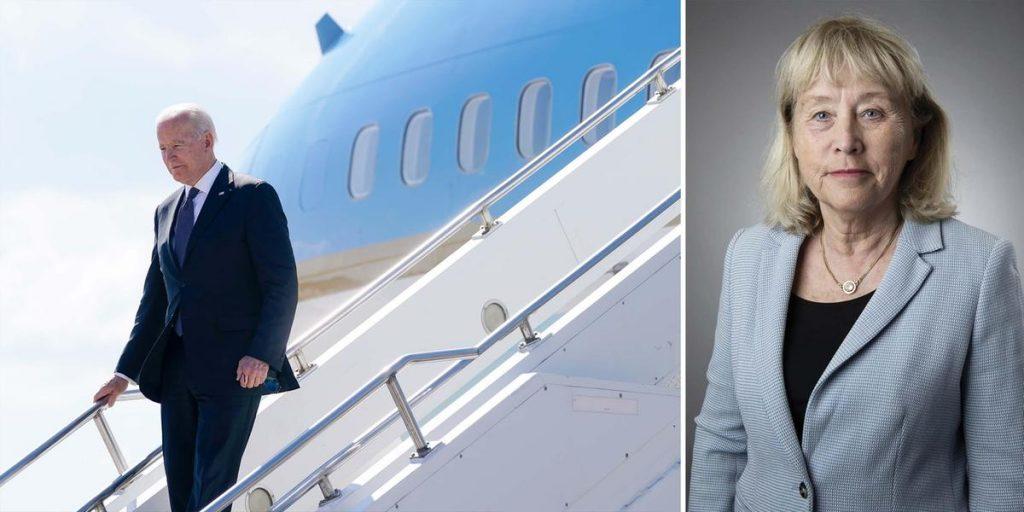 Trump again Biden's headache after European trip