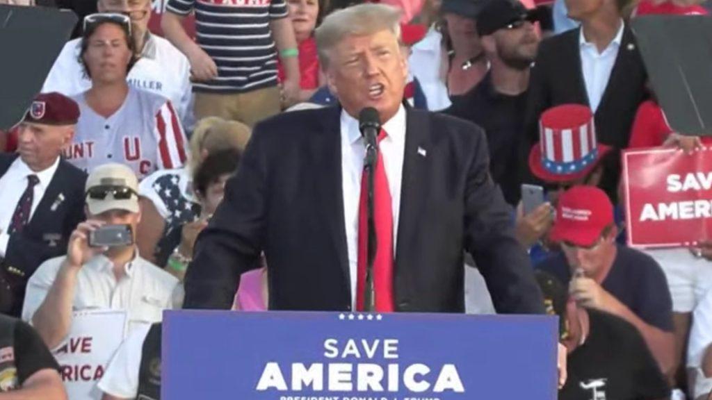 Trump last night: 'I missed me'