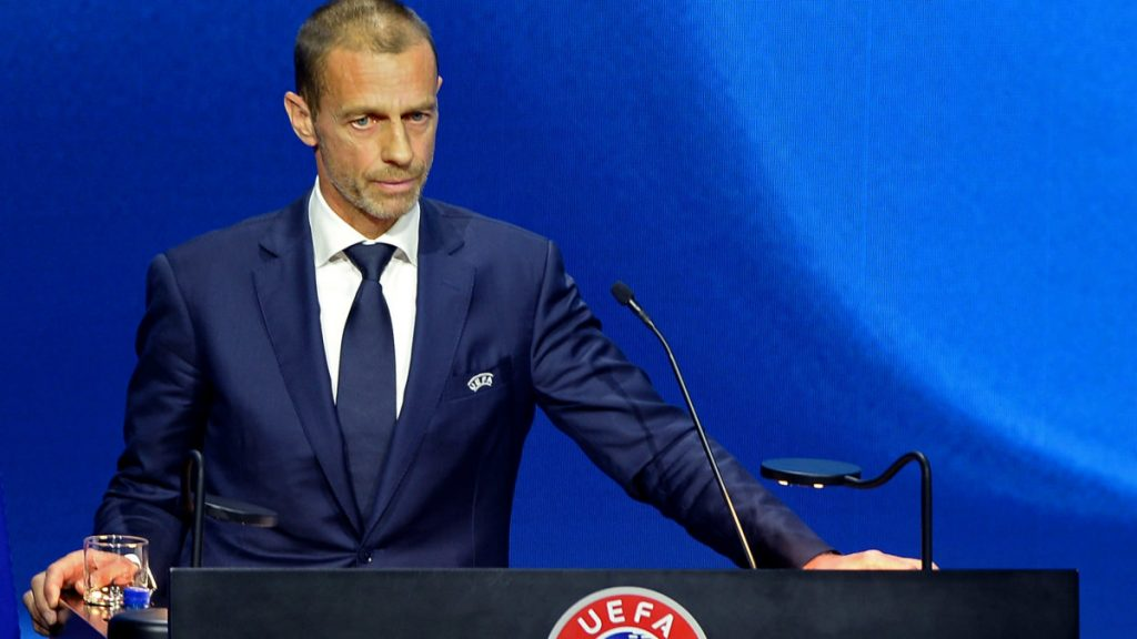 UEFA president divides coup plotters into three groups - trio receive stinging criticism: 'They think the Earth is flat and the Premier League still exists' |  Sports