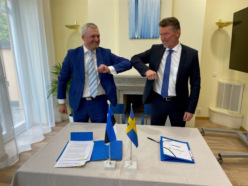 Vatneval became a minority owner of the Estonian nuclear energy company Fermi Energia