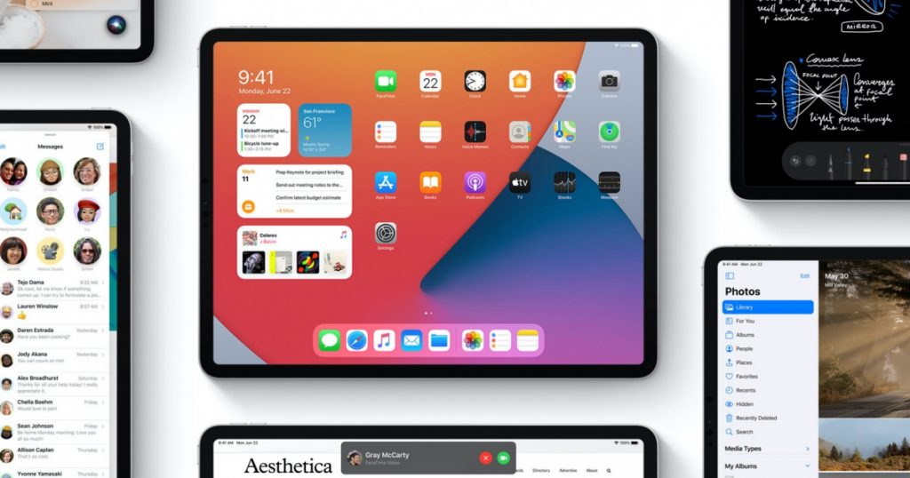 iPadOS gets a multitasking update and improved feedback control in iOS