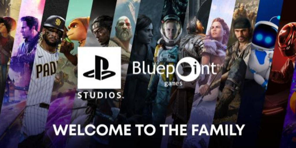 Did Playstation Japan reveal its acquisition of Bluepoint Games?