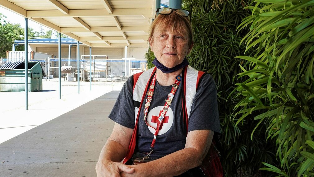 Mary Nichols, Lake Shasta evacuation site coordinator.