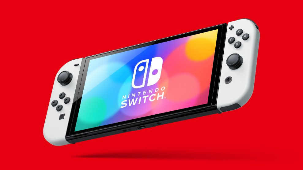 Nintendo Switch: sharper contrast with an OLED screen