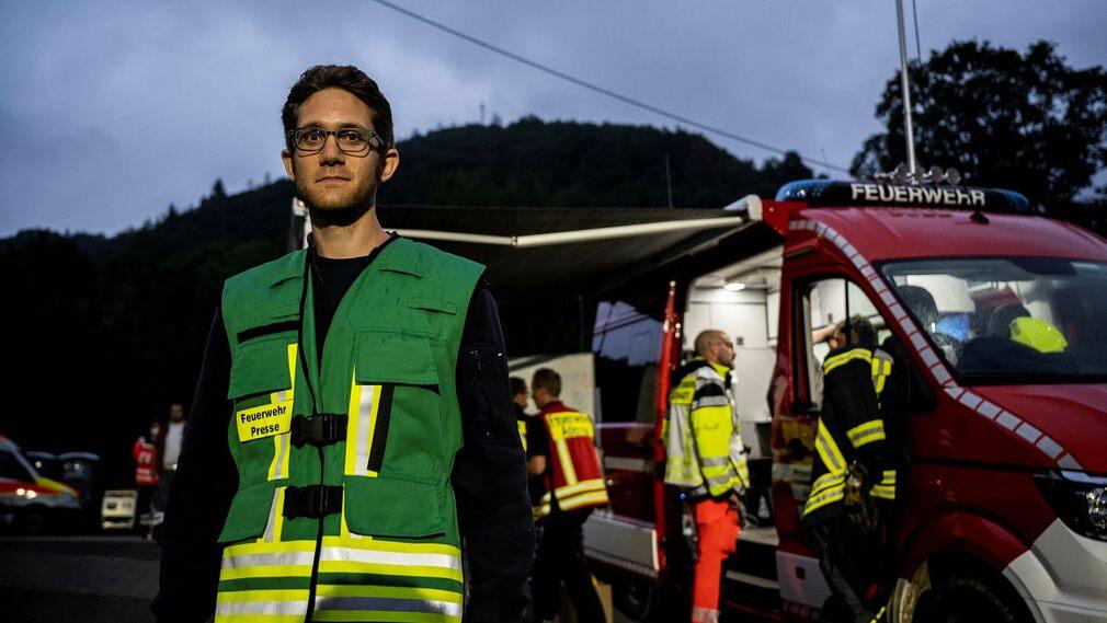 Andreas Holhead, a spokesperson for the Adenau Fire Brigade, said: