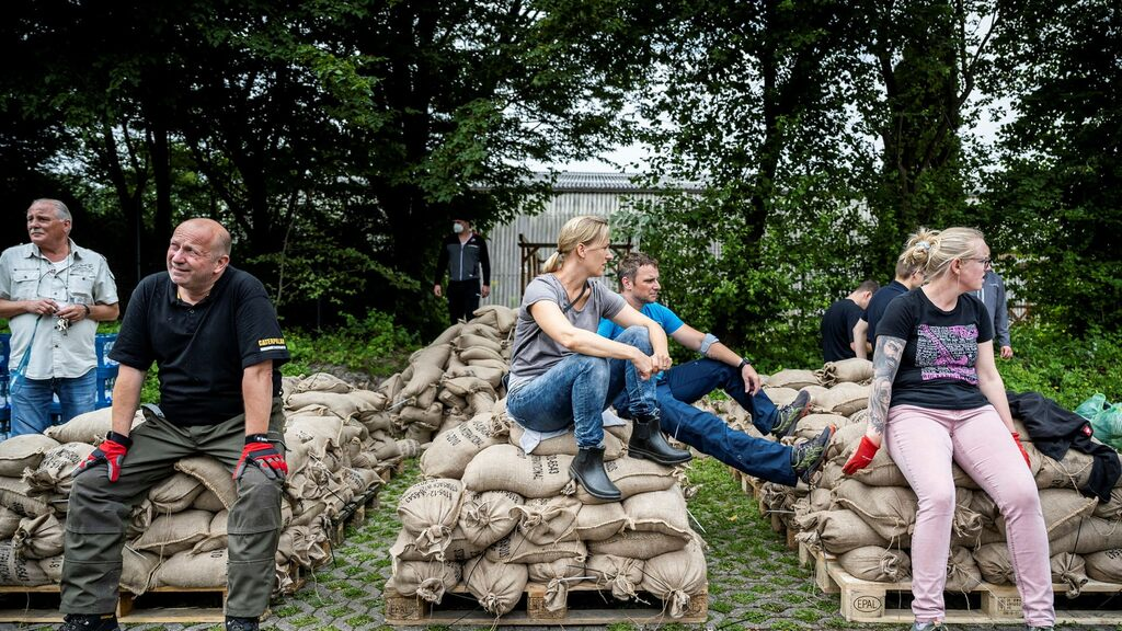 Big challenges in rescue work after floods in Germany