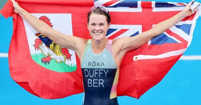 Flora Duffy won Bermuda's first Olympic gold medal triathlon