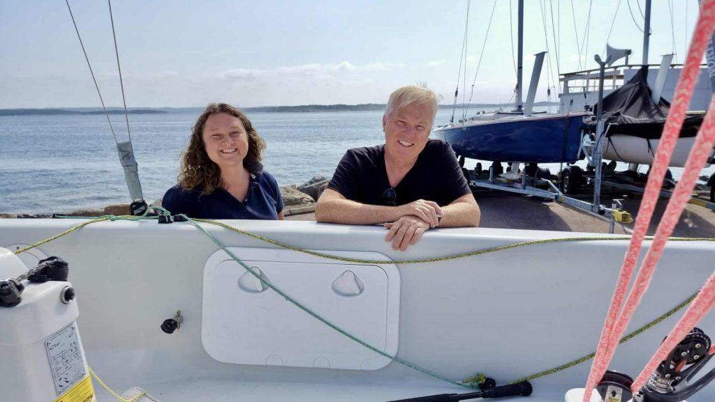 SS Kaparen is looking for beginners in sailing - Nora Haaland