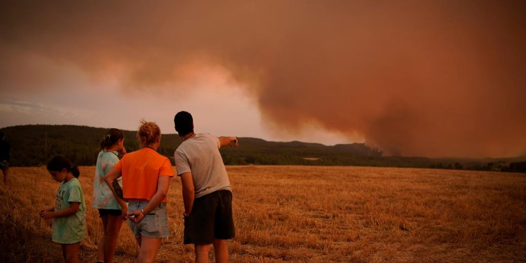 Big fires - and the season has barely begun