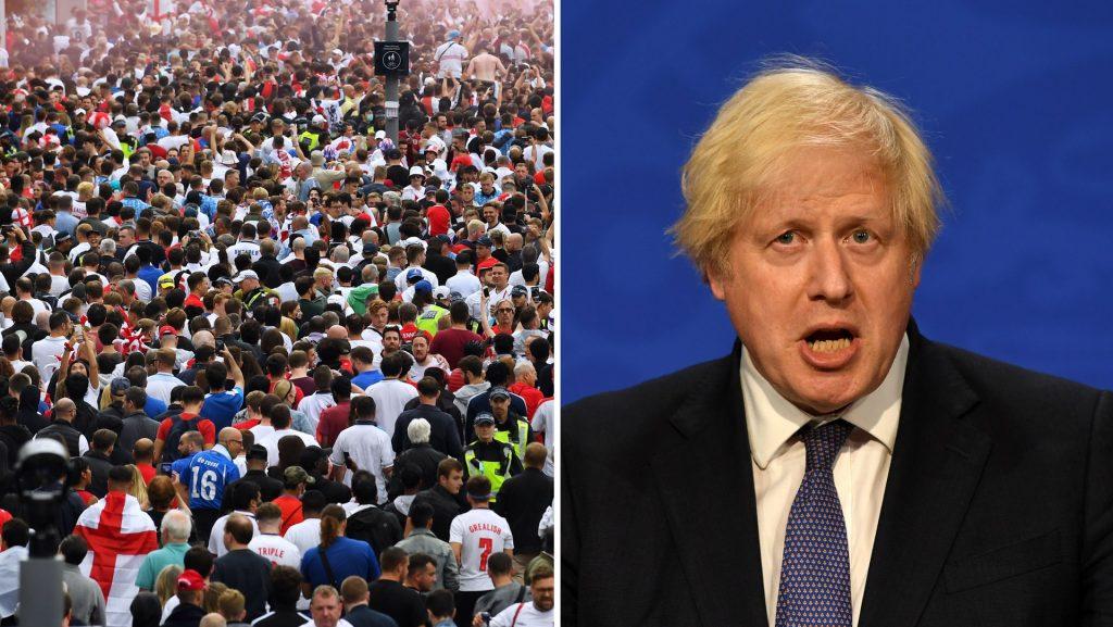 Britain opens - despite rapid spread