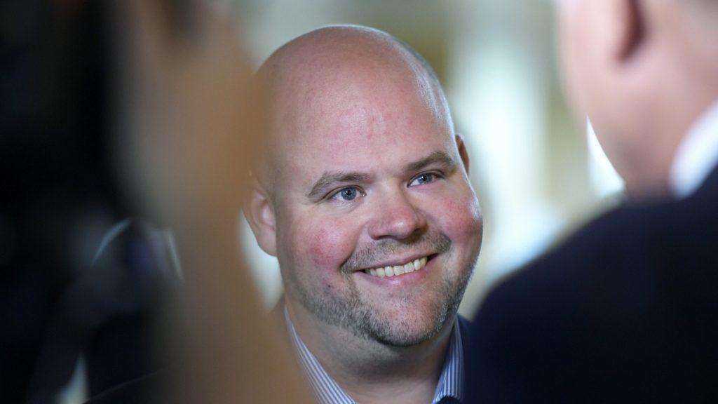 Kristdemokraternas partisekreterare Peter Kullgren.