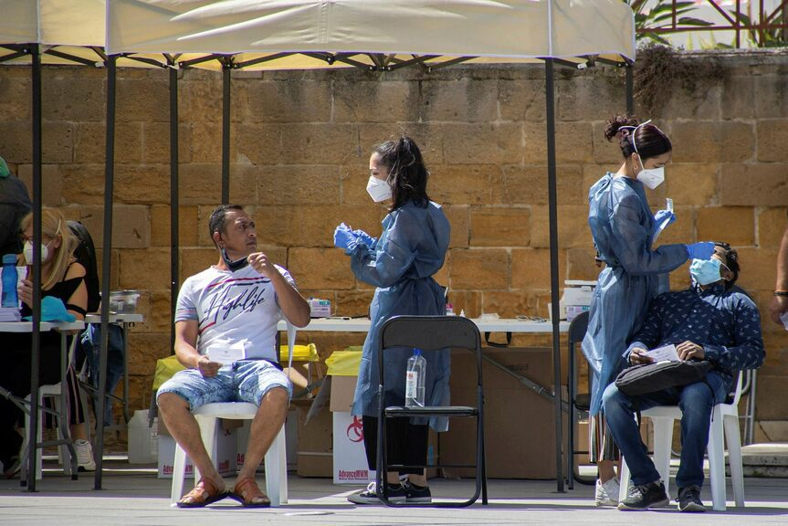Cyprus tops EU infection list - starts vaccinating 12-year-olds
