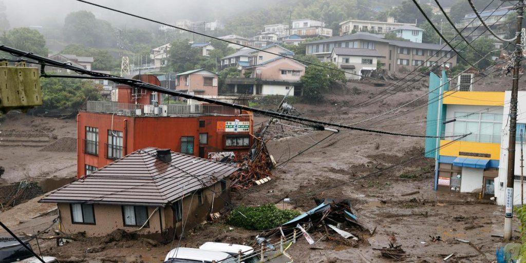 Dead and missing in major landslides in Japan