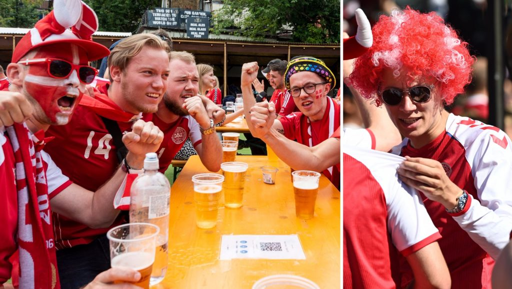 Denmark meets England in the European Championship - Danes are not allowed to enter