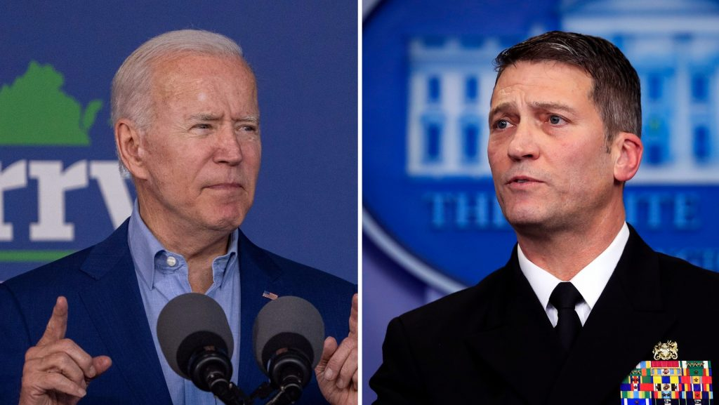 Former White House doctor: Biden will have to resign