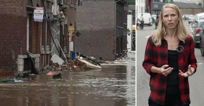 Great devastation in Belgium: 'People are very shocked'