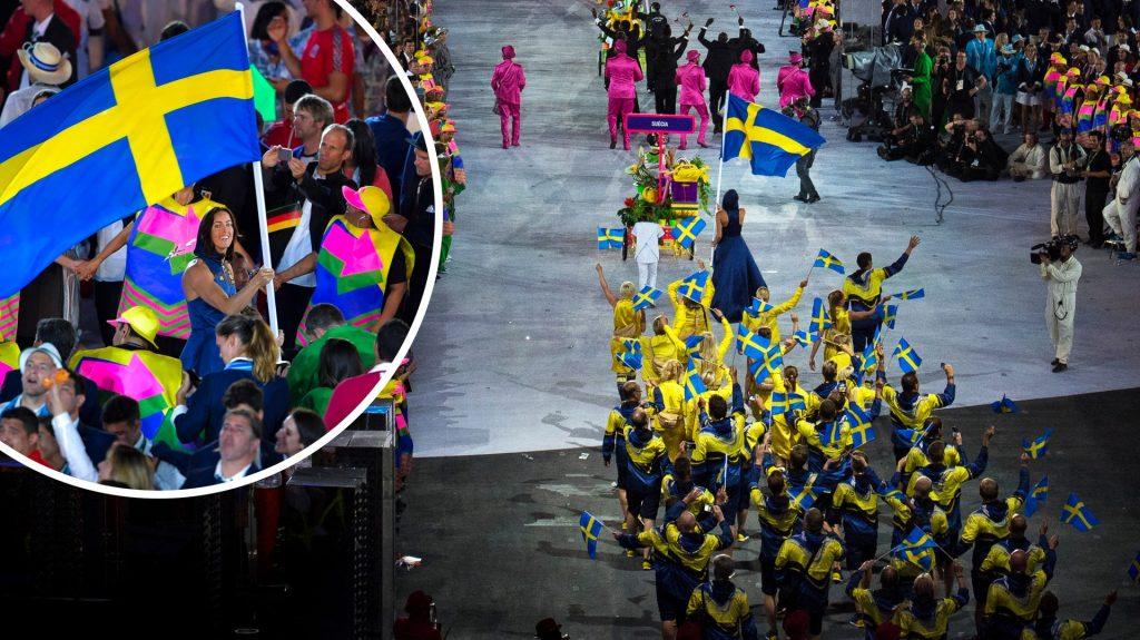 Historic Swedish elections - double flag bearers