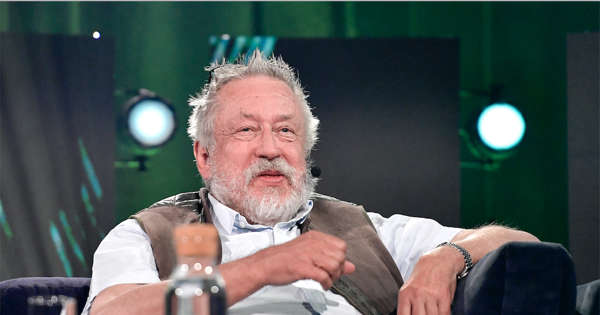 Leif GW Persson is becoming a grandfather again - that'll be the grandson's name