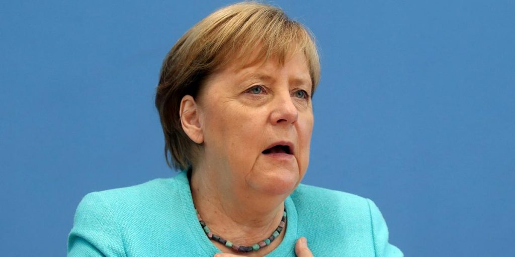 Merkel acknowledges Germany's failure to achieve climate goals