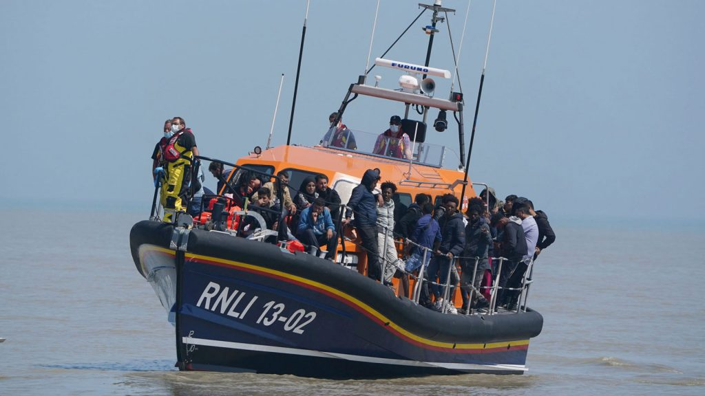 More and more refugees are crossing the English Channel