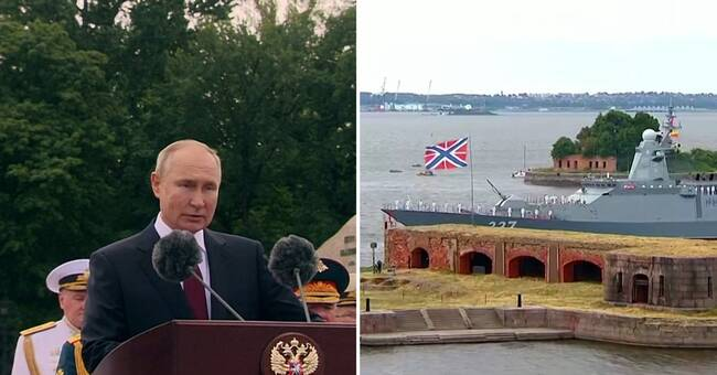 """Putin: Ready for an """"inevitable"""" attack"""