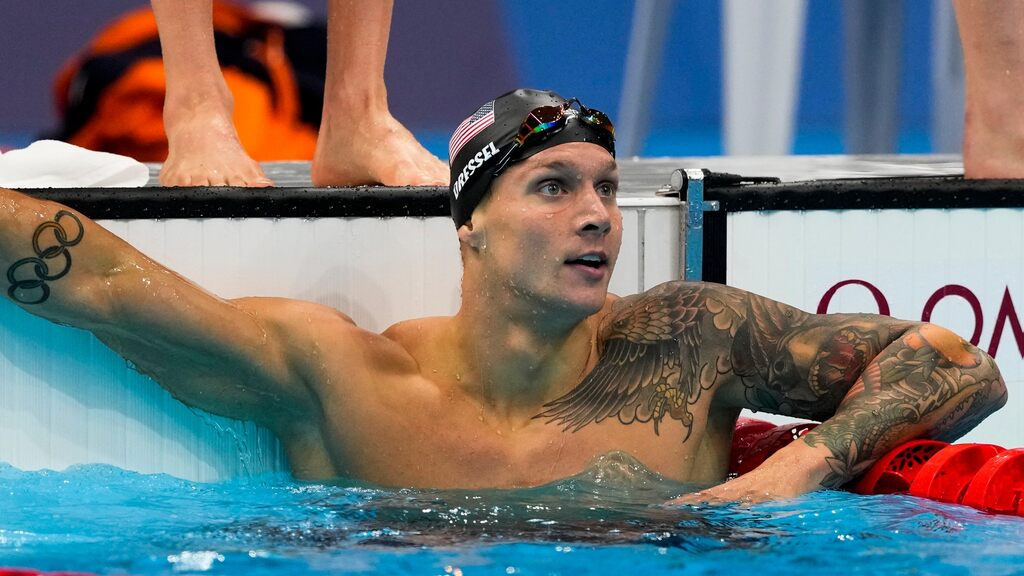 Saturday's Stressful Dressel - Record, Gold and Missed Medal