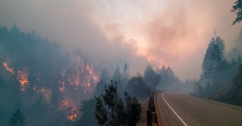 Sixty new wildfires in Canada