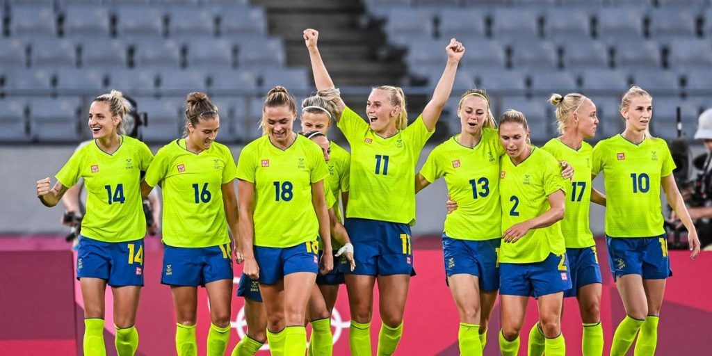 Sweden lights up in a dark Olympics that shouldn't have started