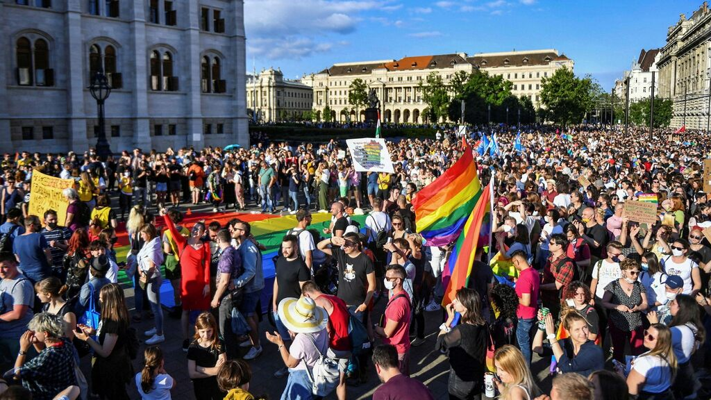 The European Union is working on LGBT issues in Hungary and Poland